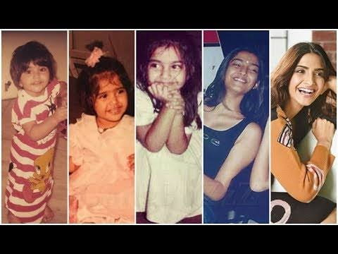 Sonam Kapoor childhood to present