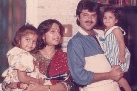 Anil kapoor Sunita Kapoor Sonam Kapoor