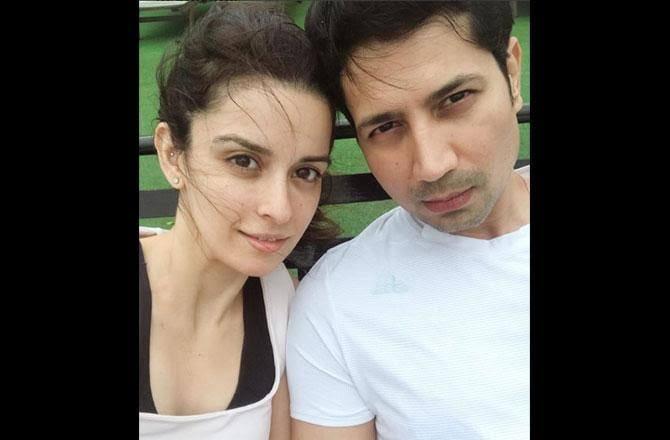 Sumeet Vyas And Ekta Kaul selfie