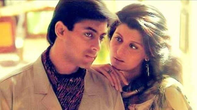 Salman Khan and Sangeeta Bijlani