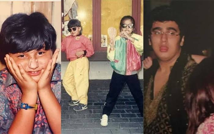 Arjun Kapoor's Childhood Photos