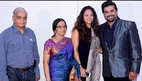 R. Madhavan and His Father