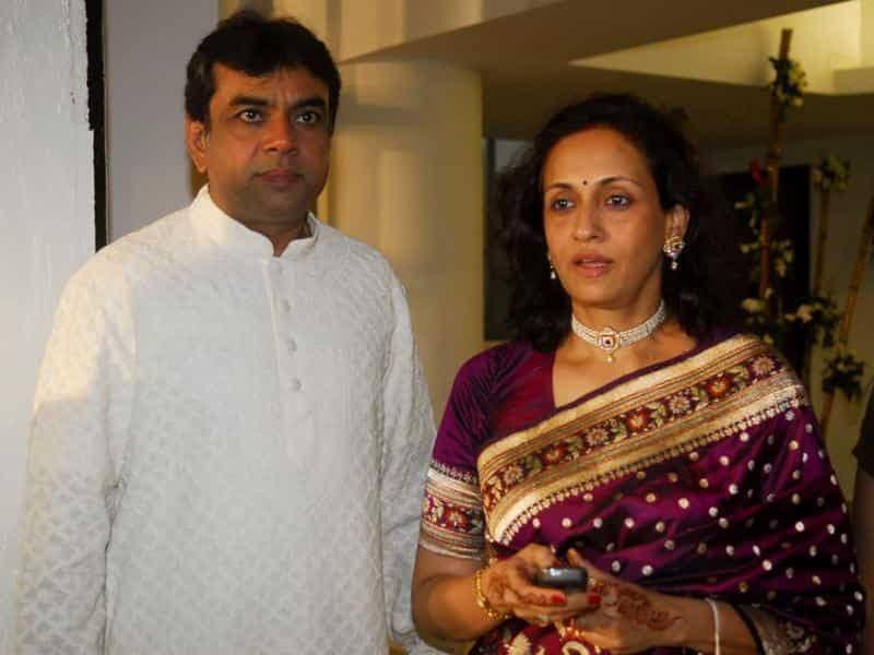 Paresh Rawal And Swaroop Sampat