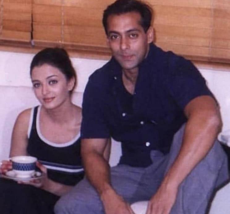 Aishwarya Rai and Salman