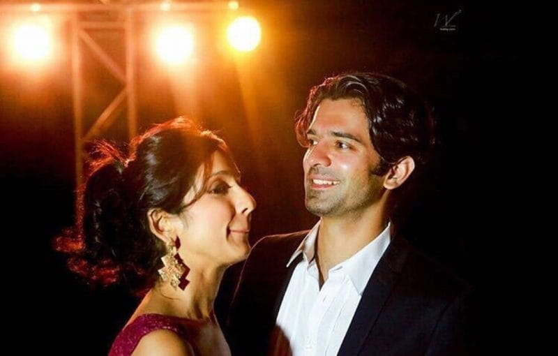 Barun Sobti and His Wife