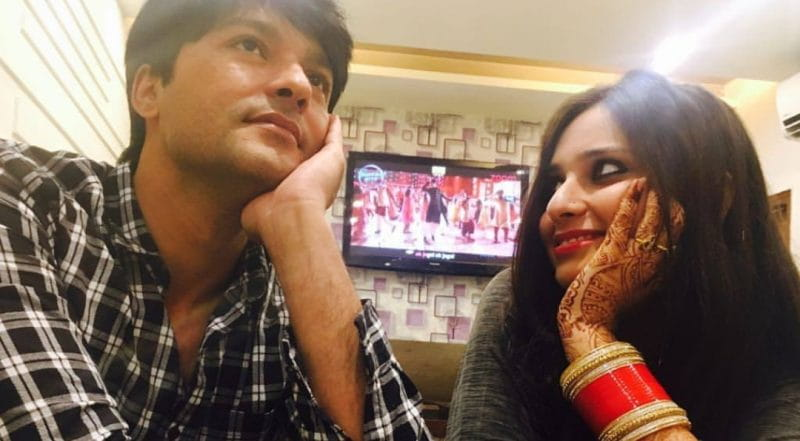 Anas Rashid and His Wife