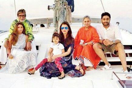 Aishwarya and Abhishek Bachchan