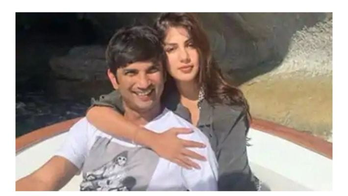 Sushant Singh and Rhea Chakraborty
