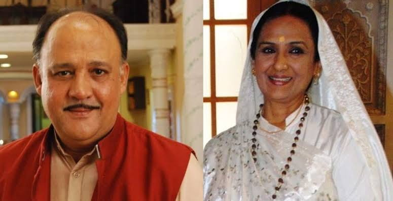 Vinita Malik and Alok Nath