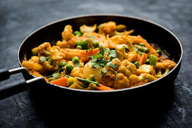 Mix Vegetable Jalfrezi