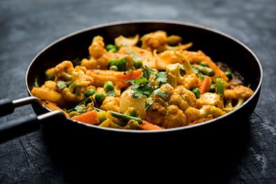 Mix Vegetable Jalfrezi