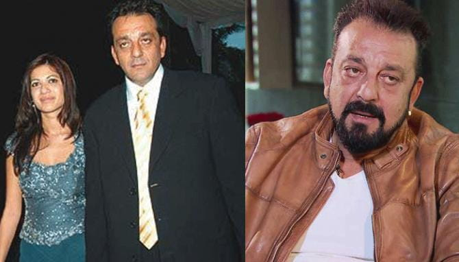 Sanjay Dutt and Nadia Durrani