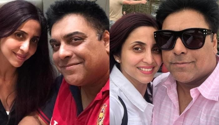 Ram Kapoor and Gautami Kapoor