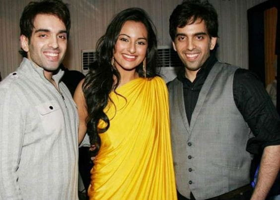 Sonakshi Sinha and Luv-Kush Sinha