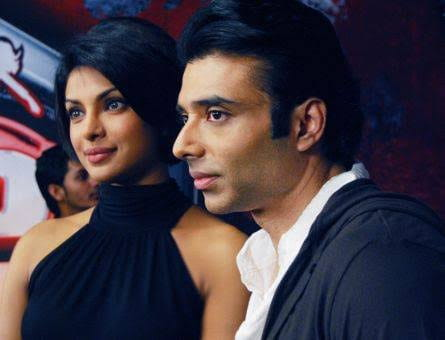 Priyanka Chopra and Uday Chopra