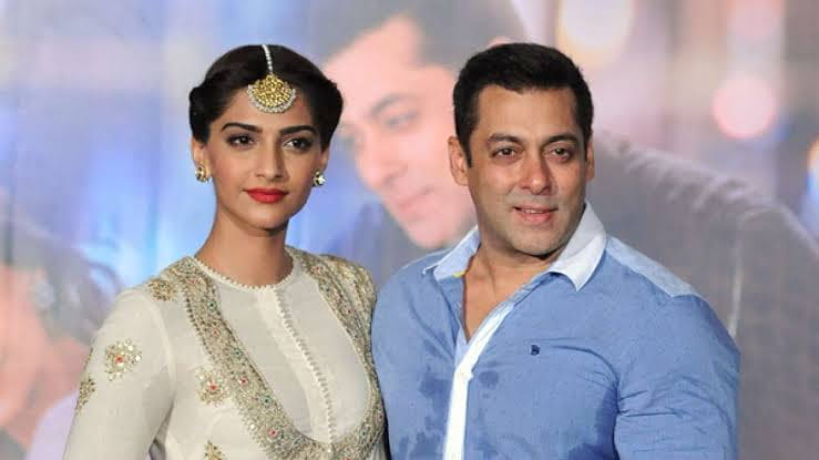Salman Khan and Sonam Kapoor