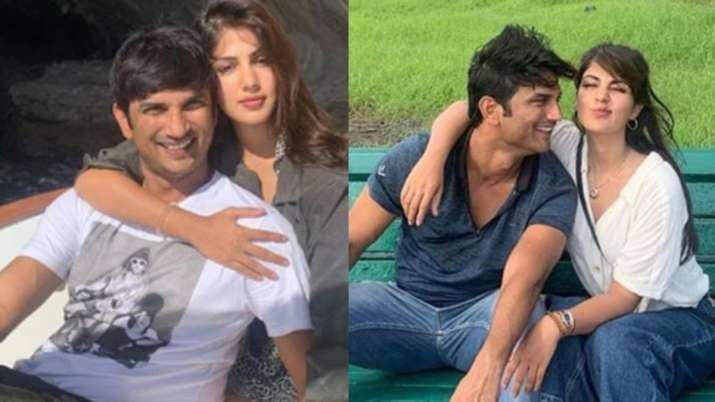 Sushant Singh Rajput and Rhea