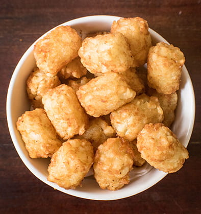 Chilli Garlic Potato Bites