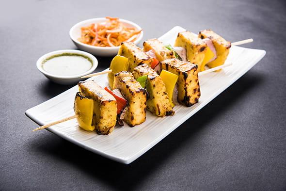 Paneer-Anardana Kebab