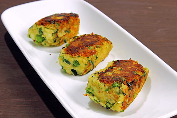 Paneer Cheese Cutlet