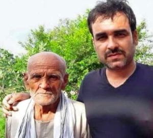 Pankaj Tripathi With His Father