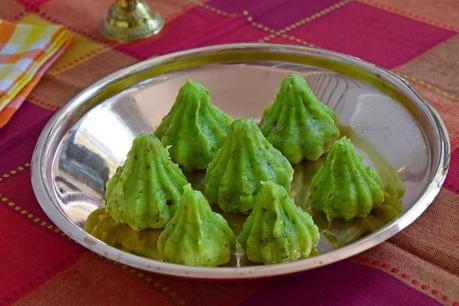 Pistachio Khoya Modak