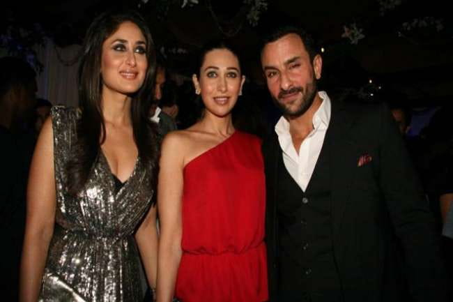 Karisma Kapoor and Saif Ali Khan