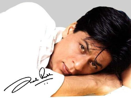 Shahrukh Khan's Autograph