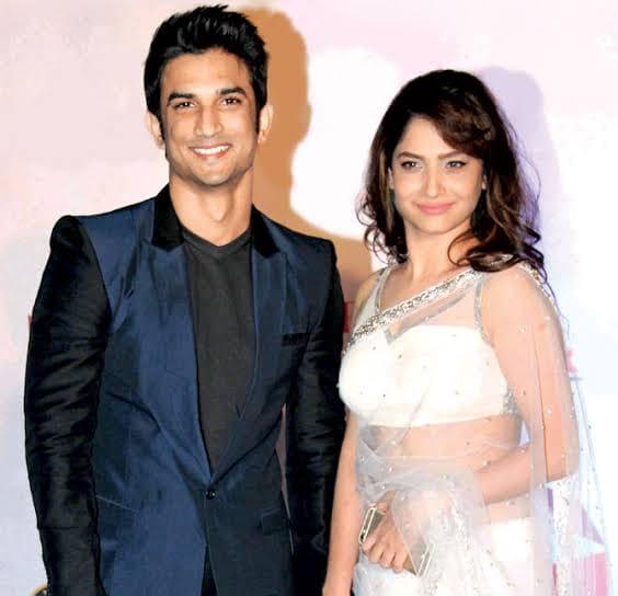 Sushant and Ankita Lokhande