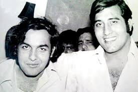 Vinod Khanna and Mukesh Bhatt