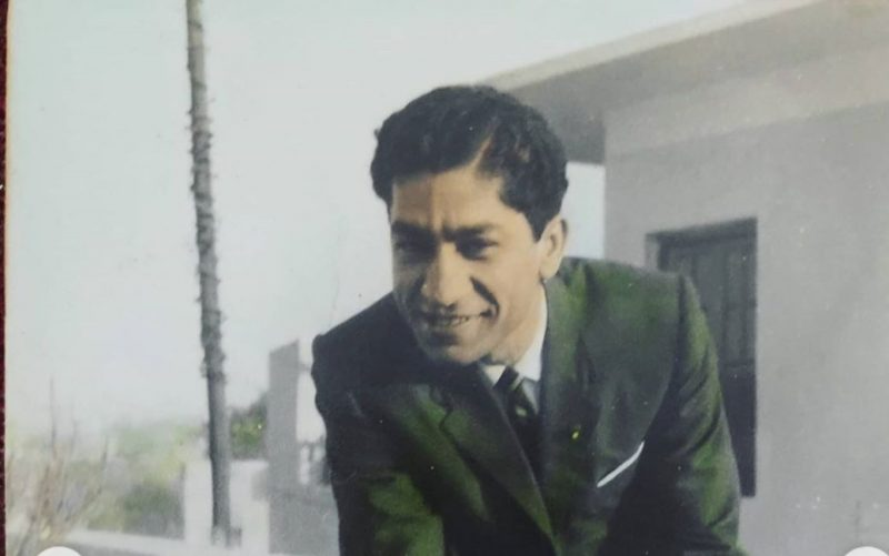 Gaurav Chopra's Father