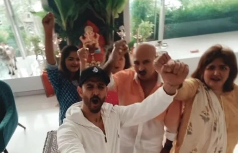 Celebrities Ganpati Visarjan