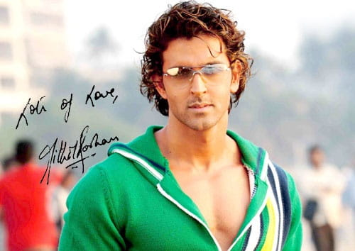Hrithik Roshan's Autograph