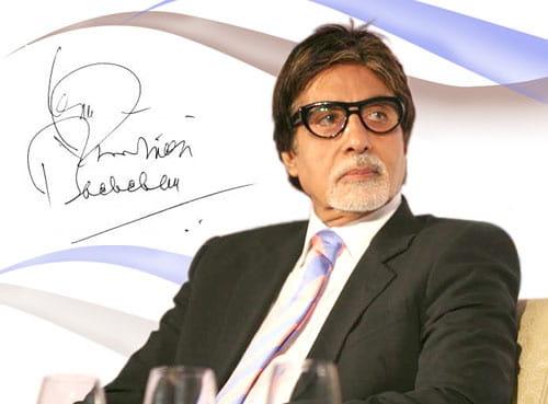Amitabh Bachchan's Autograph