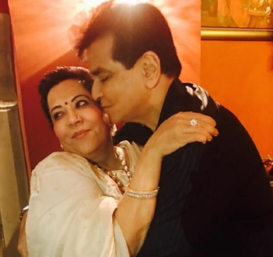 Jitendra and Shobha Kapoor
