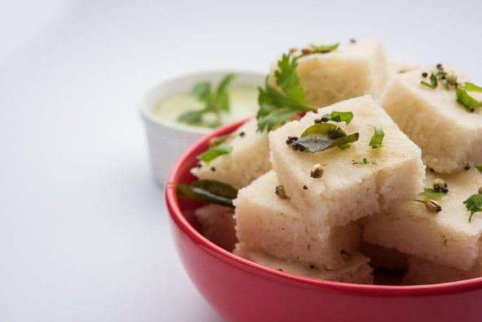 Samak Rice Dhokla