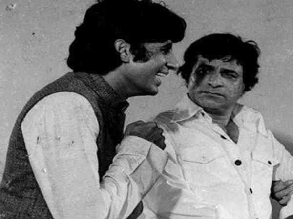 Kader Khan and Amitabh Bachchan