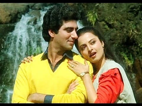 Rekha and Raj Babbar
