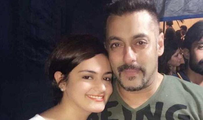 Salman Khan and Shweta Rohira