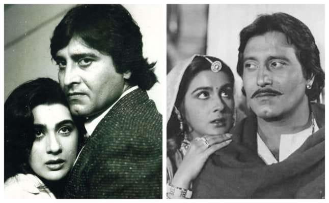 Amrita Singh and Vinod Khanna