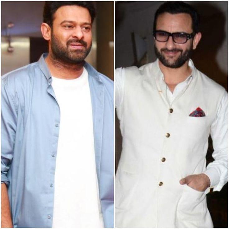 Saif Ali Khan and Prabhas Shriram