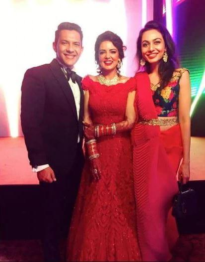 Aditya Narayan and Shweta Agarwal's Wedding Reception