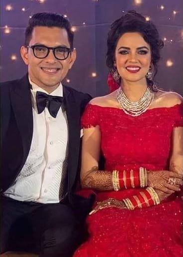Aditya Narayan and Shweta Agarwal's Wedding Reception Photos