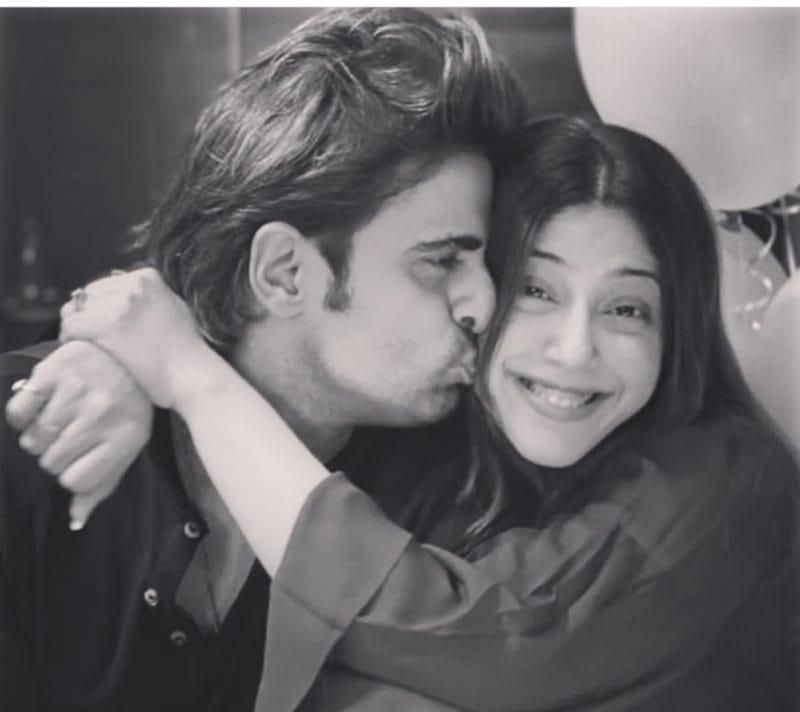 Mohit Malik and wife Addite