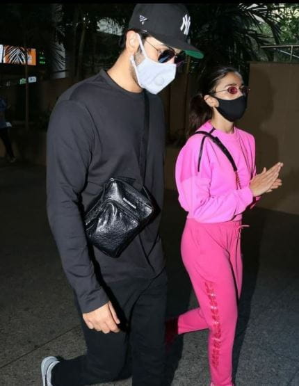 Ranbir and Alia Bhatt