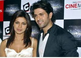 Harman Baweja and Priyanka