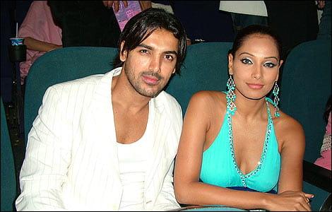 John Abraham With Bipasha Basu