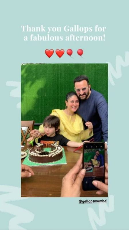 Taimur Ali Khan Birthday