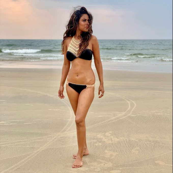 Nia Sharma in Bikini