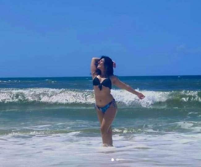 Nidhi Bhanushali in Bikini